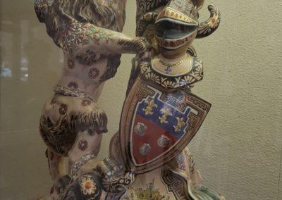 auchevaliernoir-status-lion